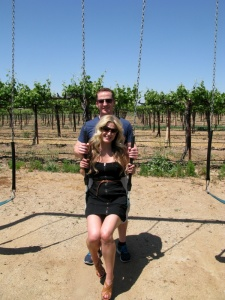 Some Fun at Mitchella Winery after lunch