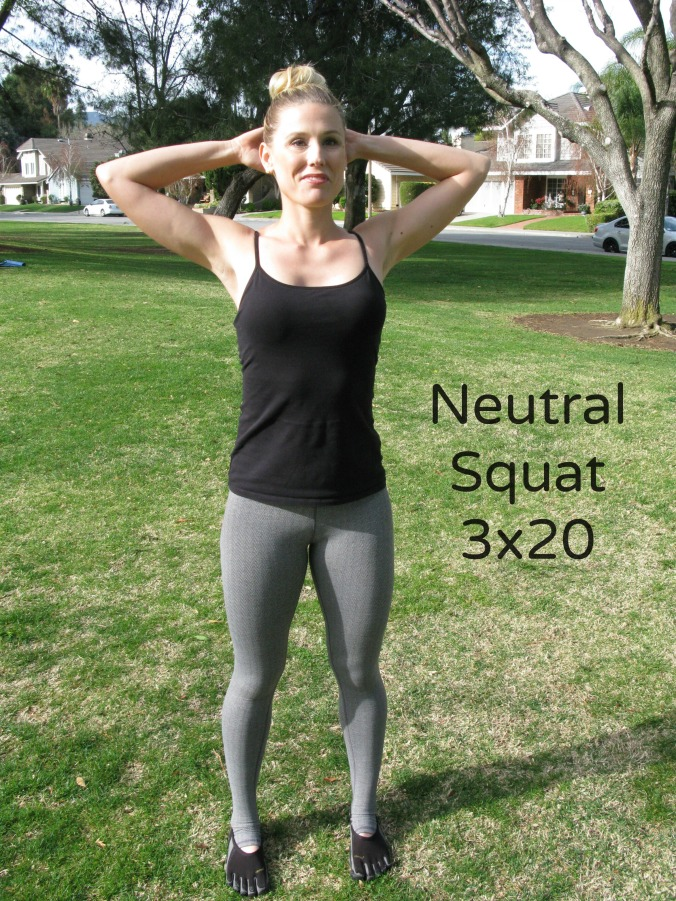 Neutral Squat