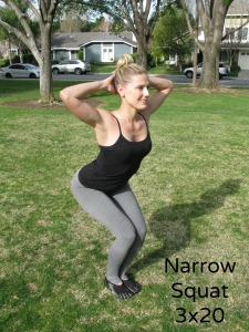 Narrow Squat