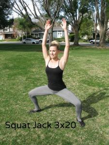 squat jumping jack