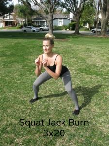 squat jack