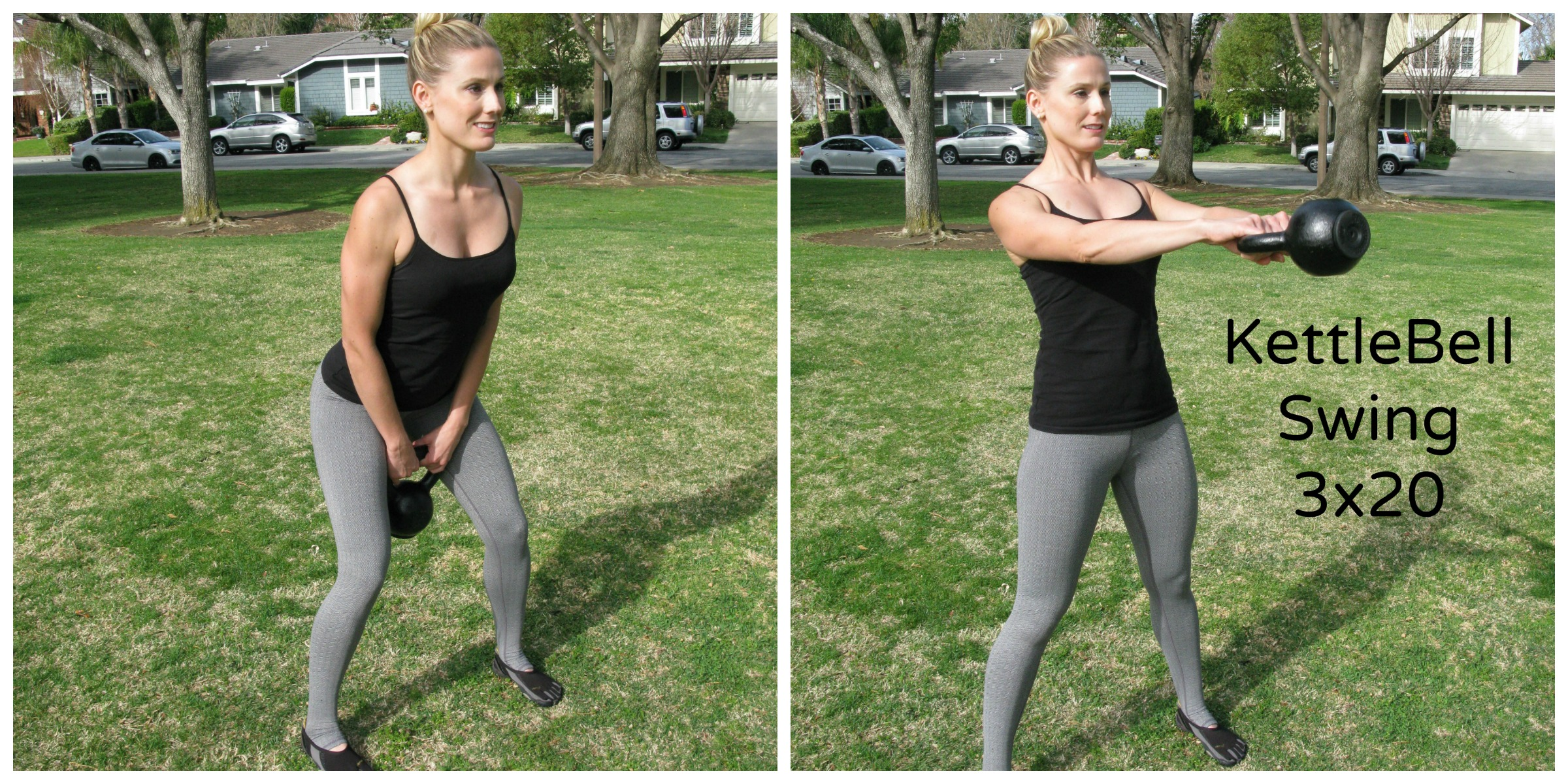 Kettlebell Swing Before And After Www Pixshark Com