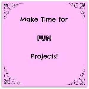 Make time for FUN