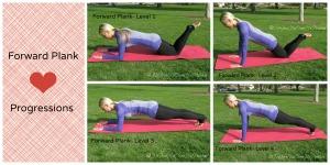 Forward Plank Progressions