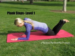 Plank Steps Level 1