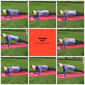 Plank Steps Level 2
