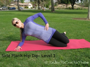 Side Plank Hip Dip Level 1