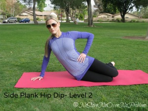 Side Plank Hip Dip Level 2