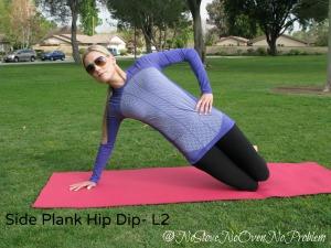 Side Plank Hip Dip Level 2