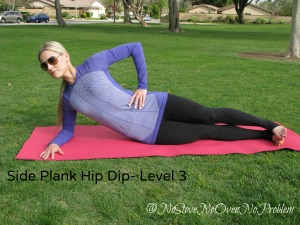 Side Plank Hip Dip Level 3