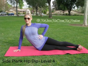 Side Plank Hip Dip Level 4
