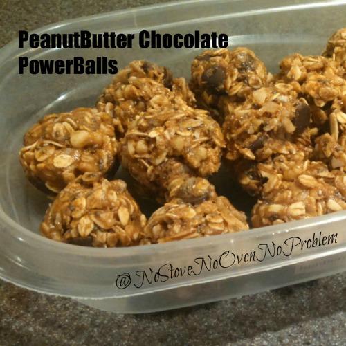 PeanutButter Chocolate PowerBalls