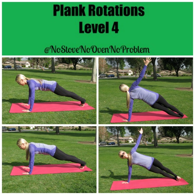Plank Rotations
